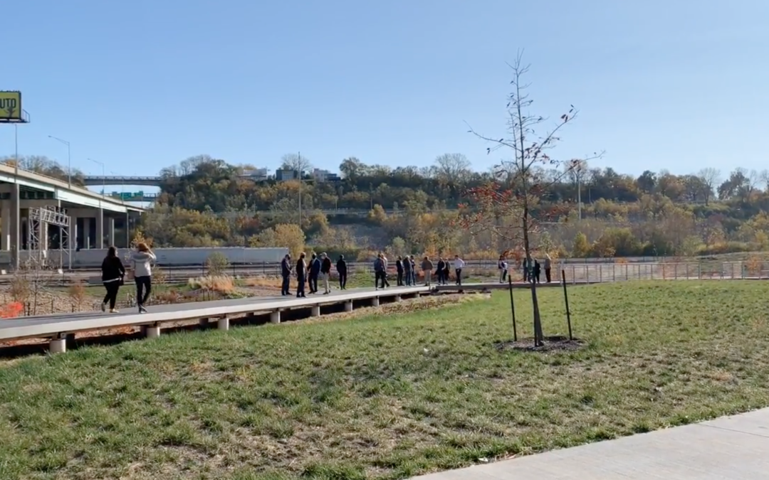 GI Exchange Member Kansas City Water Recently Marked Completion & Official Opening of New West Bottom Green Infrastructure Project
