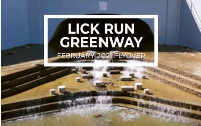 Spectacular Drone Video Showcases New Lick Run Greenway Project by Metropolitan Sewer District of Greater Cincinnati