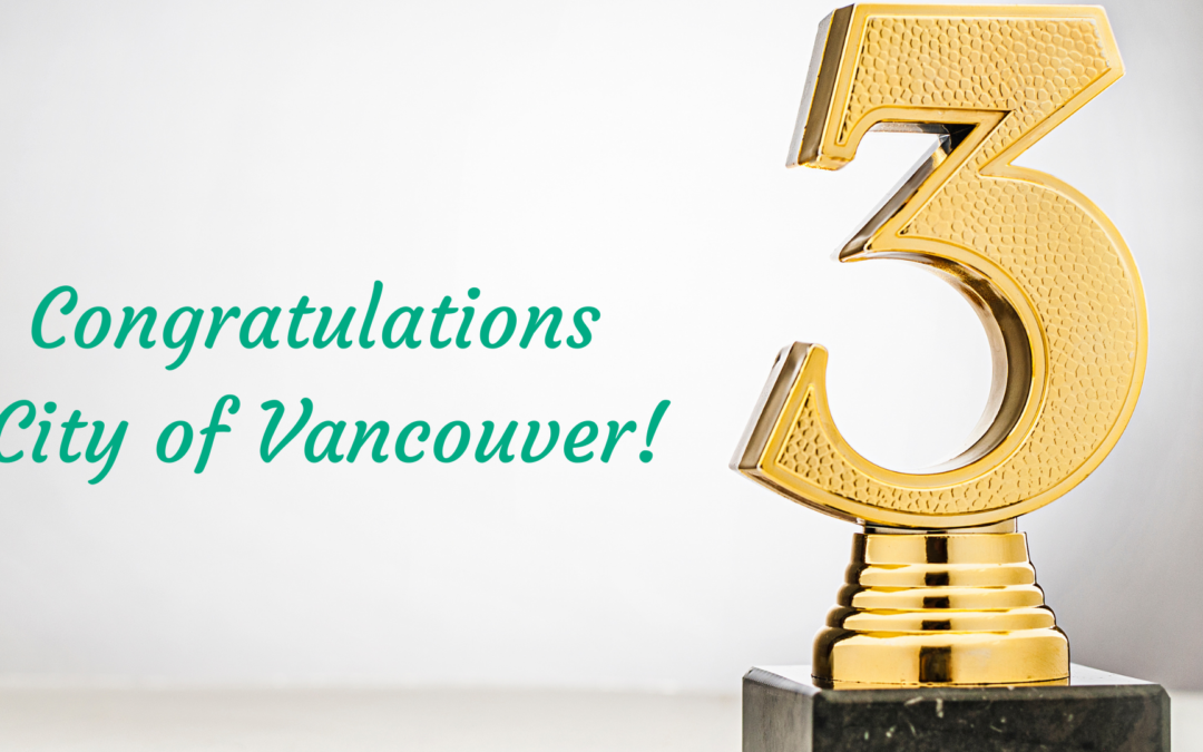 GSI Trailblazers Campaign 3rd Place Winner – City of Vancouver!!