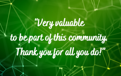 THE RESULTS ARE IN! What Our Members Say About the Value of Participating in the Exchange