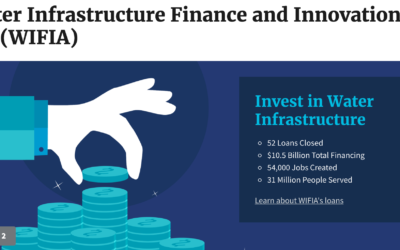 $5.5 Billion in Loans Available from EPA WIFIA Program for Water Infrastructure Projects