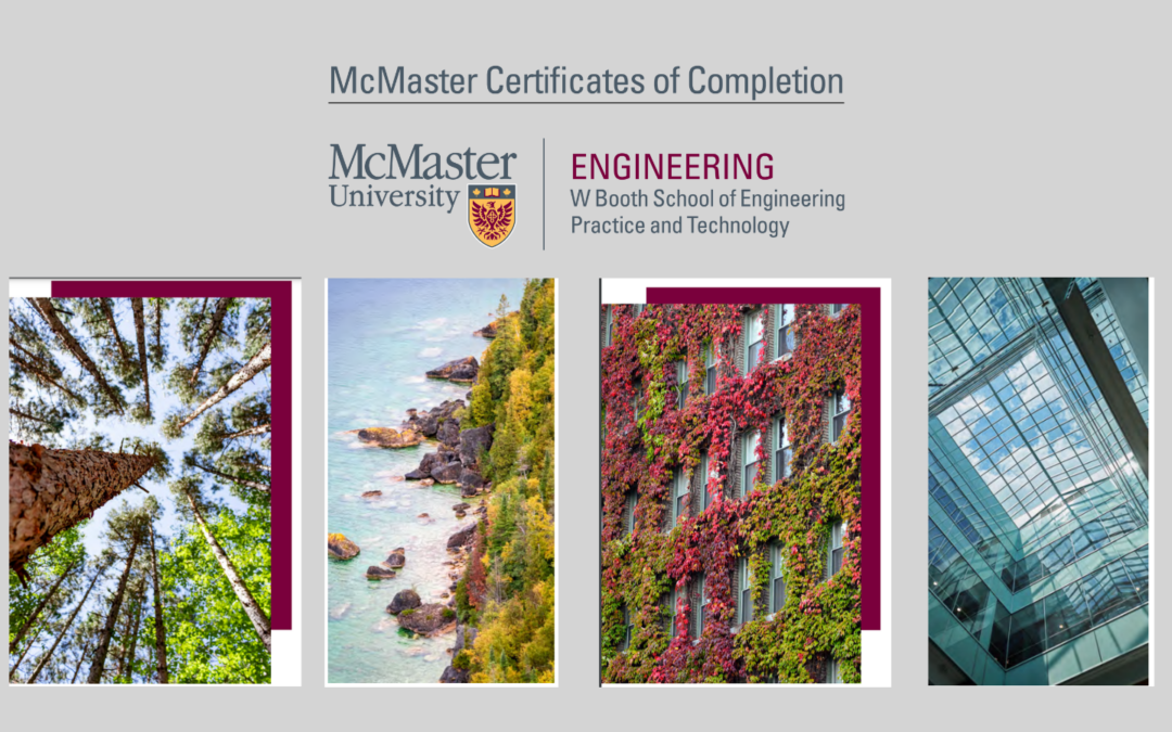 McMaster University in Ontario Offering Sustainable Infrastructure Certificate Program This Fall